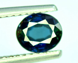 1.50 CT Bi-Color Flawless Party Sapphire Gemstone Oval Cut