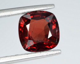 AIG CERT ~ 2.40 Ct Natural Red Spinel ( burma ) Gemstone