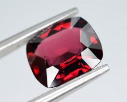 AIG CERT ~ 2.92 Ct Natural Red Spinel ( burma ) Gemstone
