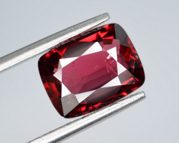 AIG CERT ~ 2.84 Ct Natural Red Spinel ( burma ) Gemstone