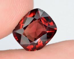 AIG CERT ~ 2.38 Ct Natural Red Spinel ( burma ) Gemstone