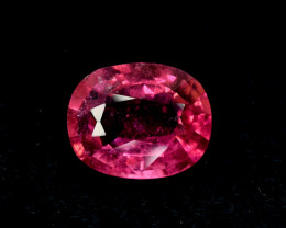 No Reserve - 3.45 Carats Oval Cut Natural Rubellite Tourmaline Gemstone