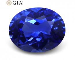 1.21 ct Blue Sapphire Oval GIA Certified Sri Lanka
