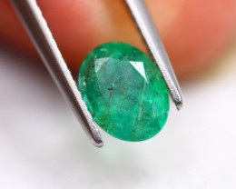 1.04Ct Natural Zambia Green Emerald Lot B1791