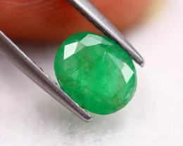 1.25Ct Natural Zambia Green Emerald Lot B1796