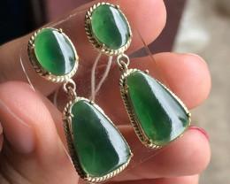 "Burmese Jade,  A-Type,  ""Soda Green"""