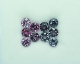 7.39 Cts Stunning Lustrous Burmese Round Spinel Parcel