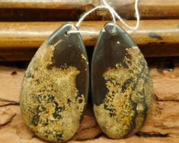 Chouhua jasper earring pairs (G0752)