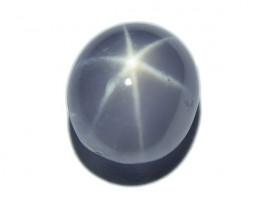 Light Blue Star Sapphire 2.35ct well-defined star (00633)