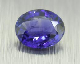 Ceylon Blue Sapphire 0.61ct , big face (01460)
