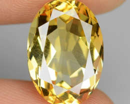 6.04 Cts Fancy Golden Yellow Color Natural Citrine Gemstone