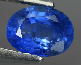 CERTIFIED 1.28 CTS AWESOME BLUE SAPPHIRE FACET GENUINE OVAL HEATED MADAGASC