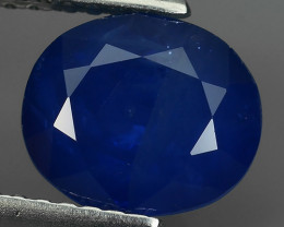 3.60 Cts Natural Intense Beautiful Blue Sapphire Oval Shape From MADAGASCAR