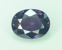 AIG~Cert~1.05 CT Unheated purple Sapphire