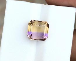 4.60 Ct Natural Bi Color VVS Ametrine Gemstone
