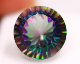 12.57Ct Natural Mystic Topaz Round Cut Lot LZ2915