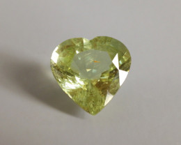 8.30ct Merelani Mint Green Garnet | Heart Cut | GIA