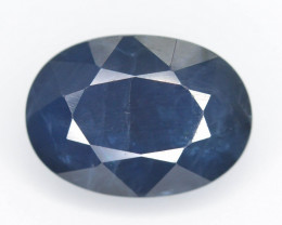 AIG ~ Certified ~5.32 Natural Untreated Blue Color Sapphire AD