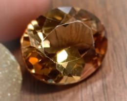 4.88ct Shining Caramel Gold Topaz Gem VVS No reserve ~