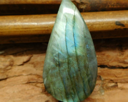 Natural gemstone labradorite pendant (G0785)