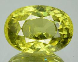 4.20 Natural Greenish Yellow Mali Garnet Oval