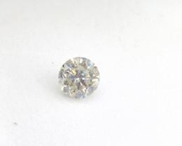 0.50ct  Faint Yellow Diamond , 100% Natural Untreated