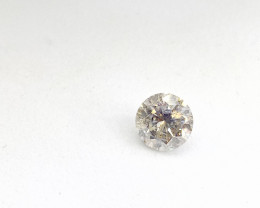 0.53ct  J-SI3 Diamond , 100% Natural Untreated