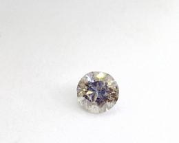 0.44ct  brownish Gray Diamond , 100% Natural Untreated