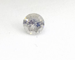 0.39ct  J-I1  Diamond , 100% Natural Untreated