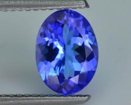 AAA Grade 1.49 ct Tanzanite eye catching Color SKU.15