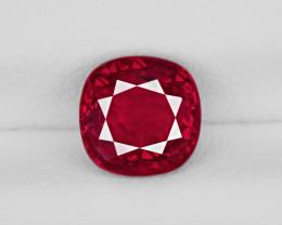 Ruby, 1.31ct - Mined in Burma | Certified by GRS