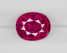 Ruby, 1.47ct - Mined in Afghanistan | Certified by GIA