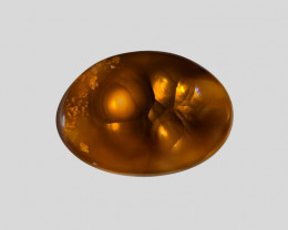 Fire Agate, 9.93ct - Mined in Mexico | Certified by IGI