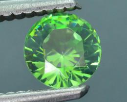 Rare 1.15 ct Green Zircon Great Luster Unheated Cambodia SKU.7