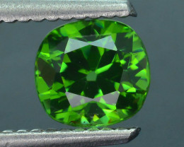 Rare 1.50 ct Green Zircon Great Luster Unheated Cambodia SKU.7