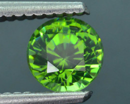 Rare 1.39 ct Green Zircon Great Luster Unheated Cambodia SKU.7