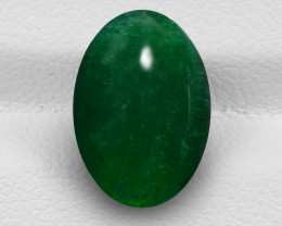 Emerald, 39.23ct - Mined in Zambia   Certified by GII