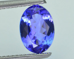 AAA Grade 1.62 ct Tanzanite eye catching Color SKU.15