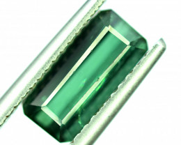 3.30 Carats Bluish Green Color Tourmaline Gemstone From AFG