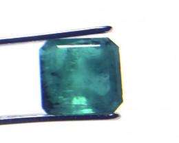 1.26Ct Natural Emerald