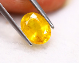 2.48ct Yellow Sapphire Oval Cut Lot V4644