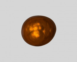 Fire Agate, 3.68ct - Mined in Mexico   Certified by IGI