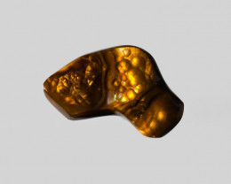 Fire Agate, 18.54ct - Mined in Mexico | Certified by IGI