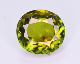 Stunning color  1.85 ct Natural Green Color Tourmaline ~ T