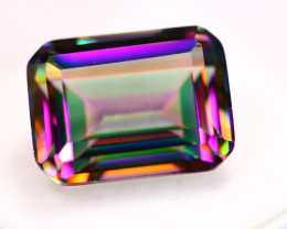 16.32ct Mystic Topaz Octagon Cut Lot D114
