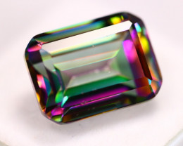 16.38ct Mystic Topaz Octagon Cut Lot D119