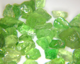 338Ct Natural Tsavorite Garnet Facet Rough Parcel