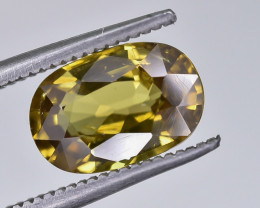 3.09 Crt Natural Zircon Faceted Gemstone.( AG 71)