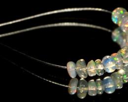 2.15 Crt Natural Ethiopian Welo Opal Demi Strand 27