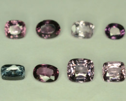 11.30 ct 12 Pcs NATURAL SPINEL FROM TAJIKISTAN